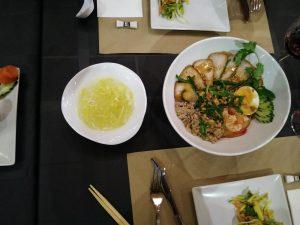 fideos Restaurante Lotus comida Vietnamita Zaragoza