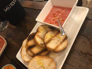 pan con tomate restaurante Designio Zaragoza