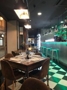 panoramica restaurante Designio Zaragoza