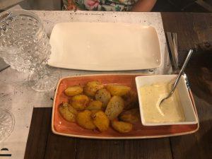 patatas restaurante Designio Zaragoza