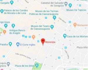 ubicacion restaurante molarepa zaragoza