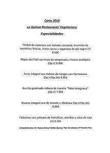 carta1 Restaurante Laquinoa