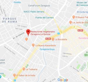 ubicacion restaurante laquinoa zaragoza