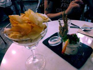 chips de yuca restaurante Meli del Tubo