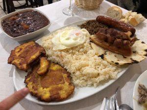 bandeja Paisa restaurante Colombiano Zaragoza