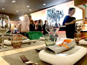 interior restaurante Nola Gras de Zaragoza