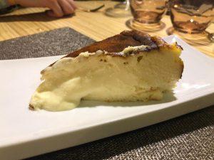 tarta queso restaurante Nola Gras de Zaragoza