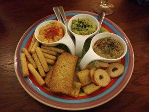 trio para untar restaurante barrio sur zaragoza