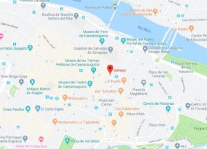 dónde está restaurante Izakaya Zaragoza