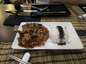 tallarines restaurante Izakaya Zaragoza