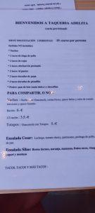 menu degustacion